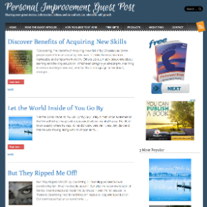 Forward Steps Self Improvement Blogs - Self Improvement Guest Posts Blog image