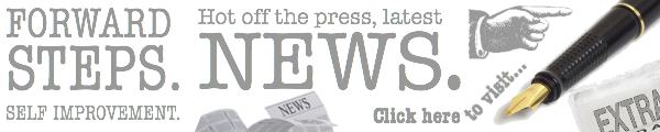 Banner-Forward Steps Self Improvement News