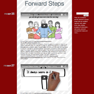 Forward Steps Self Improvement Blogs - Forward Steps Tumblr Blog image