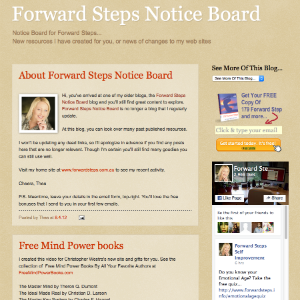 Forward Steps Self Improvement Blogs - Forward Steps Blogspot image