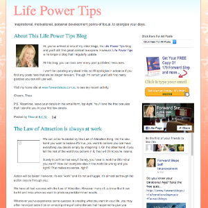 Forward Steps Self Improvement Blogs - Life Coach Thea Blogspot image
