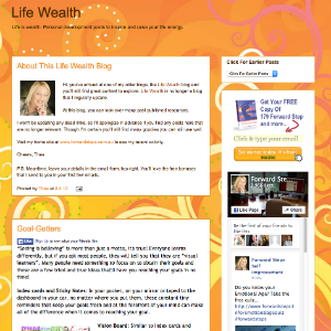 Forward Steps Self Improvement Blogs - Life Wealth Blogspot image