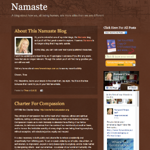 Forward Steps Self Improvement Blogs - Namaste Land Blogspot image