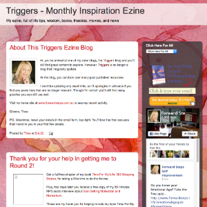 Forward Steps Self Improvement Blogs - Triggers Ezine Blogspot image