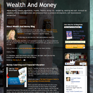 Forward Steps Self Improvement Blogs - Wealth And Money Blogspot image